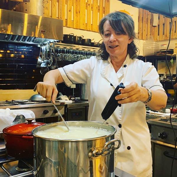 Bernardita Correa quesos